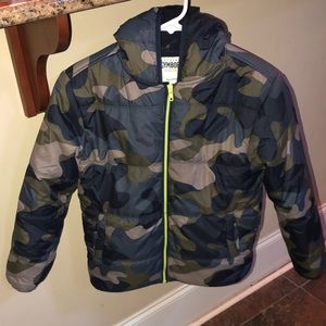 Nearly new Gymboree boys winter coat - size 10/12